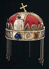 Crown of St. István (975-1038) - click for blog posting